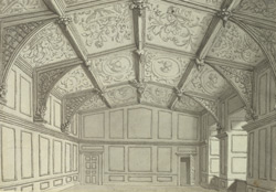 Newstead Abbey, dining room